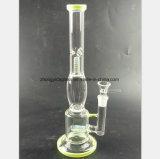 Tubulação de vidro do fumo do cachimbo de água de 13.7 polegadas