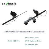 5.0MP portatile HD sotto il carrello dello specchio di controllo del veicolo che controlla il sistema della macchina fotografica DVR