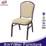 Banquet de restaurante de hotel económico promocional comedor de metal de aluminio de hierro silla de acero (XYM-L187)
