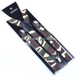 Unisex Fashion Print Y-Back Elastic Suspender 2.5 * 100cm (BD1009)