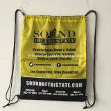 Custom barato mochila de poliéster saco para roupa suja promocionais