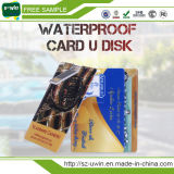 De volledige Aandrijving van de Flits van de Creditcard USB van de Kleurendruk Plastic (Uw-072)