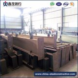 Estructura de acero de la sección prefabricada del palmo grande H para el taller con la certificación de la ISO