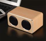 Haut-parleur en bois de Bluetooth de la carte W2 avec la fonction de voix