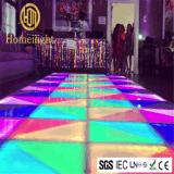 RGB de 6x6m, pista de baile de discoteca parte de la barra de la decoración de boda