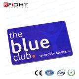 Precios baratos de doble frecuencia RFID programable de la tarjeta de recompensas