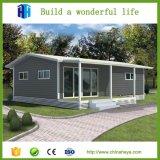 Bangladesh-Spitzenvorfabriziertstahlkonstruktion-modulares Haus-Holz