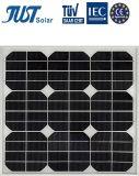 標準的な商品が付いている等級65Wのモノクリスタル太陽エネルギーのパネル