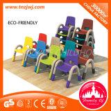 Cadeira pré-escolar da escrita da cadeira colorida do lazer dos miúdos com espaldar