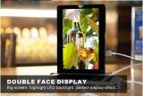 Quadro de imagem LED para publicidade e menu no café