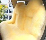 Dekking van de Zetel van de Auto van het Bont van de schapehuid de Lage