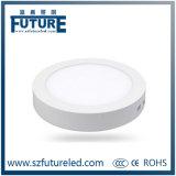 Luz del panel de las luces de techo del LED 3W-24W LED con opciones redondas/cuadradas