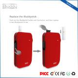 Vaporizzatore asciutto della penna dell'erba del kit del riscaldamento della sigaretta di Ibuddy I1 1800mAh