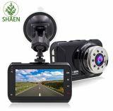 """Carro registrador dianteiro & traseiro de 1080P de HD do Built-in do GPS DVR do painel da câmera, 3.0 """""""