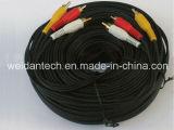 100ft 3RCA a 3RCA Composite Stereo avoirdupois Cable