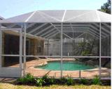 最も強いプールおよびテラス機構の昆虫スクリーン