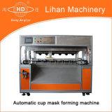 Machine automatique de formation et de découpage de masque de cuvette