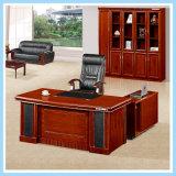 Mesa de escritório executiva de madeira do gerente da tabela moderna do computador da saliência