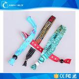 Wristband здоровья 2016 таможен с пластичной крепежной деталью