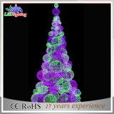 商業パブリックLED 3Dのモチーフの彫刻の装飾の球の木ライト