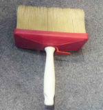 spazzola della parete di 3X12cm con la setola di Natual e la maniglia di legno