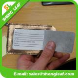 Etiqueta de goma del equipaje del PVC de la insignia de encargo de Suppier (SLF-LT031)