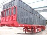 Chinese 40FT 3 Wellen-Flachbettbehälter-halb Schlussteil
