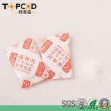 Dessecativo do gel de silicone com embalagem do saco de plástico