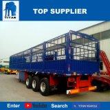 Vehículo del titán - del transporte de contenedores semi del acoplado de la cerca cargo del acoplado semi
