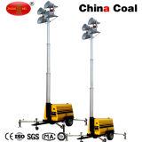Torretta di illuminazione mobile dell'inondazione LED di potere dell'alto albero Mo-5659