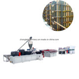 Le WPC PVC Bois Feuille de mousse plastique Machine de l'extrudeuse