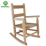 Projeto da cadeira de balanço das crianças da madeira de pinho