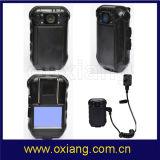 Macchina fotografica del magnetoscopio della polizia di HD1080p con l'obiettivo 120degree e la mini macchina fotografica esterna