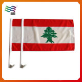 Рекламирующ флаг окна автомобиля флага автомобиля с ручкой (HY001)