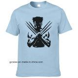 (42 cores disponíveis) por grosso T-shirt barato personalizado com logotipo da impressão