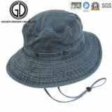 Cappello blu scuro controllato superiore della benna del denim di stile 2016