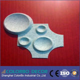 Akoestische Comités van de Vezel van de Polyester van het Huisdier van de Materialen van de Vezel van de polyester 3D