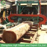 Автомата для резки журнала пущи лесопилка полосы деревянного портативная