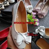 2.17 Dollar MOQ 100 Paar-Dame Flat Shoes Stock