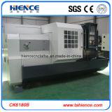 Tipo torno automático Ck6180b da base lisa de baixo custo da máquina do CNC