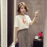 La carotte de l'impression personnalisée Cheap Short Sleeve fabriqués en Chine