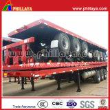 Механическая подвеска 40FT контейнерных перевозок планшет 60t прицепа