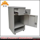 Cabina móvil de los muebles del dormitorio de Nightstand del estante del vector de cabecera del metal del hospital