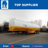 Titan 45000 à 50000 litres Remorque semi-citernes à essence du carburant diesel pétrolier Les fabricants de remorque