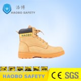 Высокая посадка обувь безопасность работы обувь для тяжелой промышленности