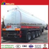 De dubbele Aanhangwagen van de Tanker van het Water van het Staal van Assen met het Gieten van Pompen