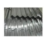 Material de construção Telhas Onduladas Folha a folha de cobertura em alumínio