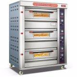 Norm 3 Dekken 6 de Machine van het Voedsel van de Oven van het Dek van het Gas van Dienbladen