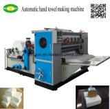 Máquina plegable de papel de la toalla de mano del doblez de la velocidad tres del precio bajo