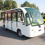 CE aprobó 14 Asientos Sightseeing Coche eléctrico de traslado en autobús Dn-14